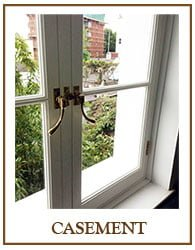 Period Casement Window Renovation services include draught sealing, repair, glazing upgrades, double glazing & bespoke replacement casement windows.