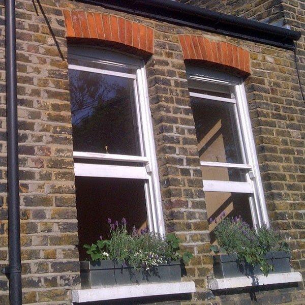 Draught proofing sash windows. Sash window restoration.