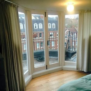 Refurbish period doors & french windows Front doors, patio doors and french windows. North London UK.