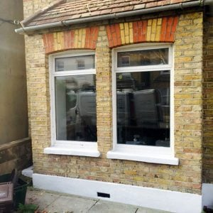Remove Window Conversions And Reinstate Sliding Sash Frames. London.