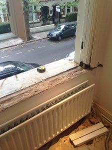 Edwardian Casement Window Restoration   Hammersmith, London