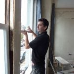Sash Window Specalist fitting replacement joinery.