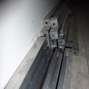 Lead window weights.