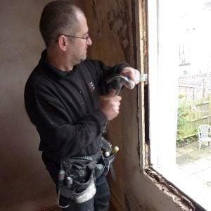 Kilburn, London. Sash Window repair being undertaken. | Reinstate double hung sashes