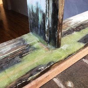 Repair rotten casement window.