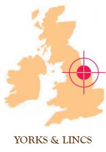 Yorks & Lincs sash window map