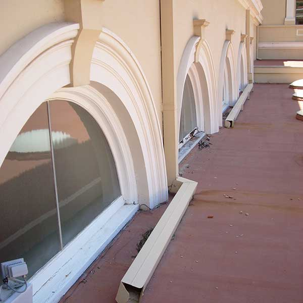 Half-Moon Window Restoration | Parliament House. Perth, Australia. 1