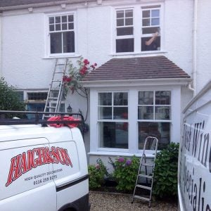 Painting Sash Windows 2