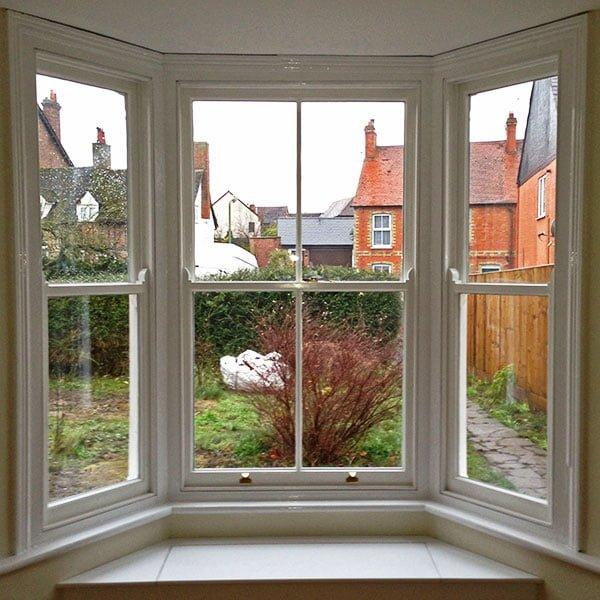 Bay window Restored Interior
