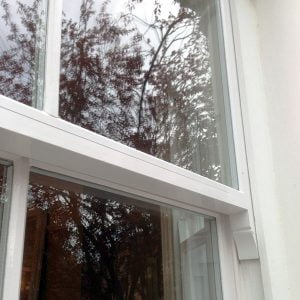 Double Glazed Wooden Sash Window. Surrey