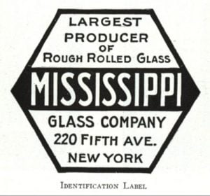 Mississippi Glass Company Logo