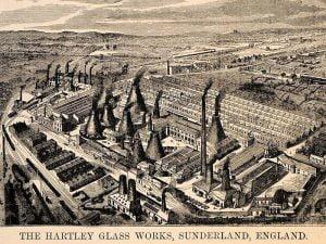Glass Factory - Hartley glassworks Sunderland