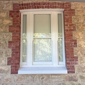 Reinstated to traditional timber sash window