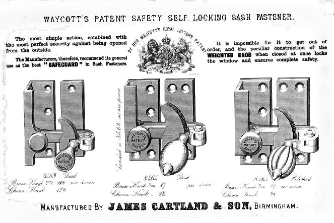 Old Sash Window Hardware | Locks, Lifts, Catches & Pulleys 1