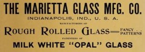 Old Textured Window Glass ID Guide | American Art Glass Patterns 2