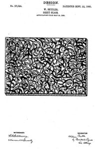Old Textured Window Glass ID Guide | American Art Glass Patterns 3