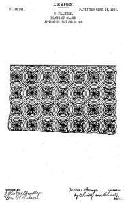 1906 USA glass pattern
