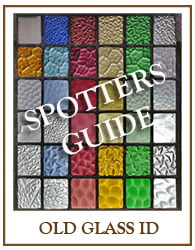 Spotters Guide To Old Window Glass Designs.
