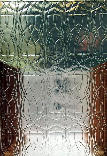 Pilkington's Tribal Glass Pattern.